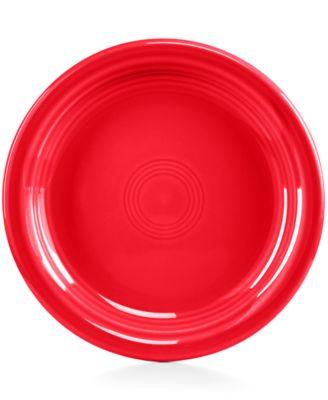 Fiesta Scarlet Appetizer Plate