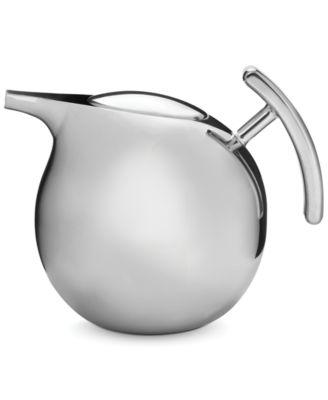 Nambe Kurl Tea Pot with Infuser