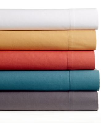 Bar III Solid King Sheet Set