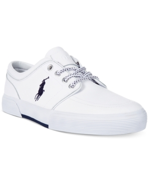 Polo Ralph Lauren Faxon Low Leather Sneakers Men's Shoes