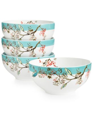 Lenox Simply Fine Set of 4 Chirp Dessert Bowls