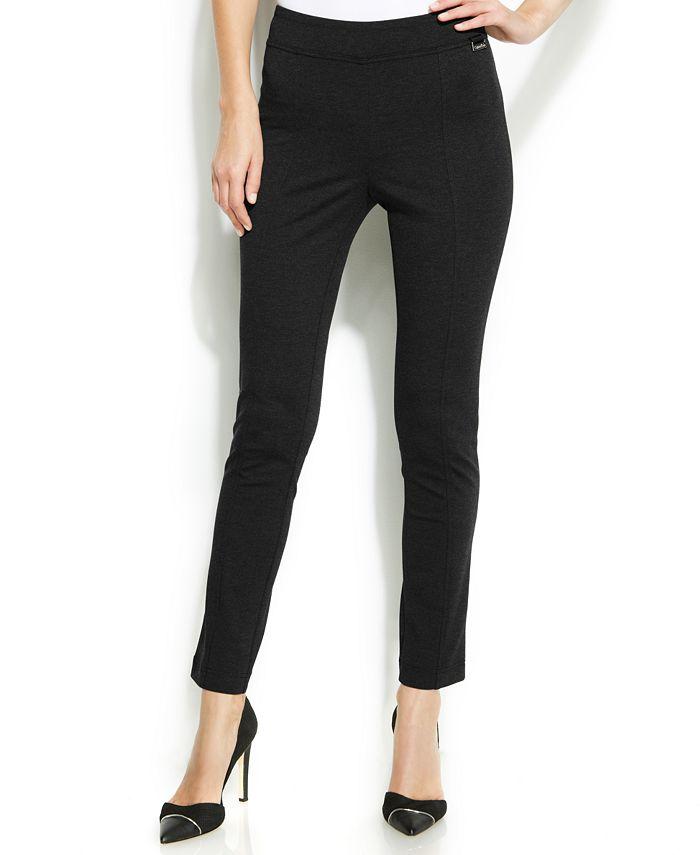 Calvin Klein - Solid High-Waist Leggings