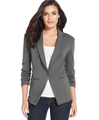 Womens Grey Blazer