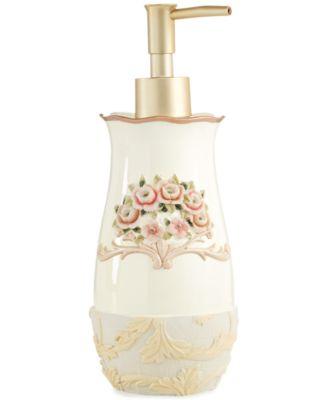 "Avanti ""Rosefan"" Soap and Lotion Dispenser"