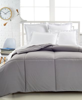 CLOSEOUT! Charter Club Superluxe Down Alternative Color Full/Queen Comforter, Only at Macy's