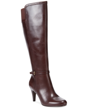 Circa by Joan & David Hadlie Wide Calf Tall Boots Womens Shoes