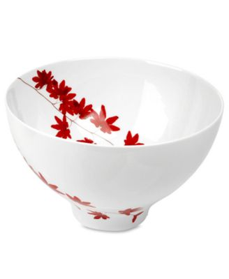 Mikasa Dinnerware, Pure Red Salad Bowl