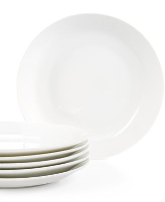 Martha Stewart Collection Everyday Entertaining Set of 6 Luncheon Plates