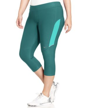 Nike Plus Size Dri-fit Active Capri Leggings