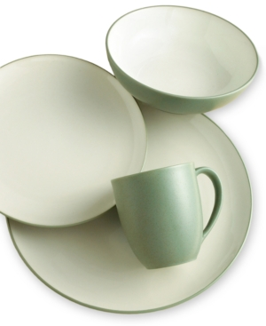 Noritake Dinnerware, Colorwave Green Coupe 4 Piece Place Setting