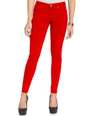 Red Skinny Jeans Ye Jean