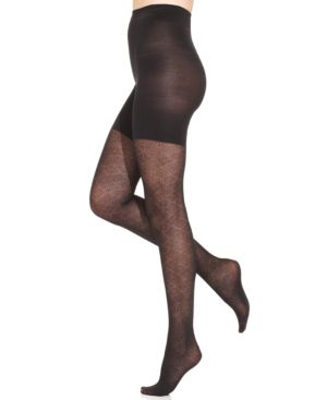 Star Power by Spanx Center-Stage Noveau Patterned Shaping Tights