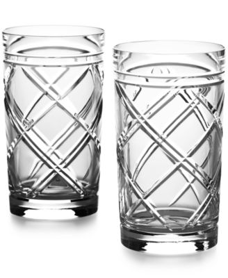 Ralph Lauren Brogan Classic Highball Glasses, Set of 2