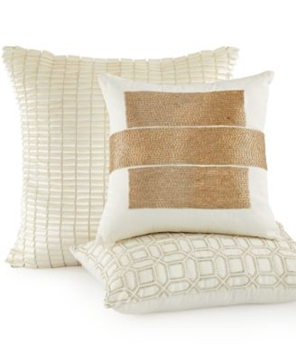 "Hotel Collection Verve 14"" Square Decorative Pillow"