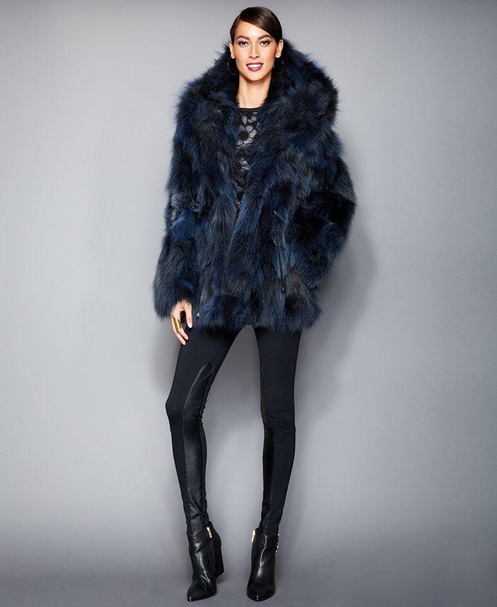 The Fur Vault - Hooded Coyote-Fur Parka