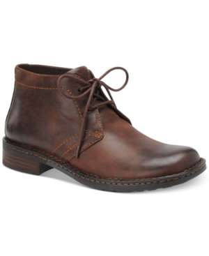 Born Harrison Casual Plain Toe Boots Men's Shoes