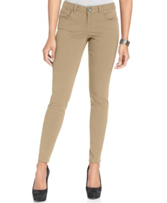 Womens Tan Jeans Ye Jean