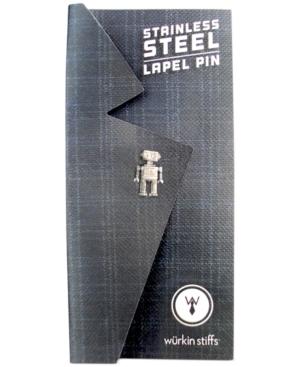 Wurkin Stiffs Robot Lapel Pin