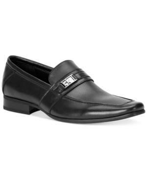 Calvin Klein Men's Bartley Bit Textured Loafers Men's Shoes