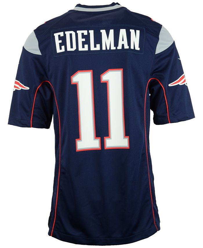 Nike - Men's Julian Edelman New England Patriots Game Jersey