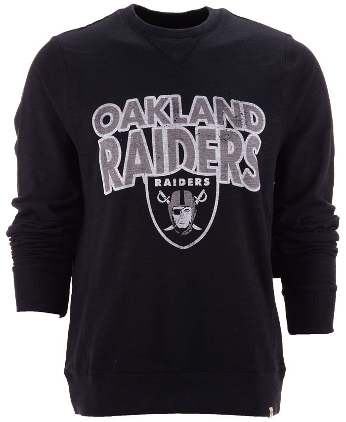 '47 Brand - Men's Oakland Raiders Graphic Sweatshirt