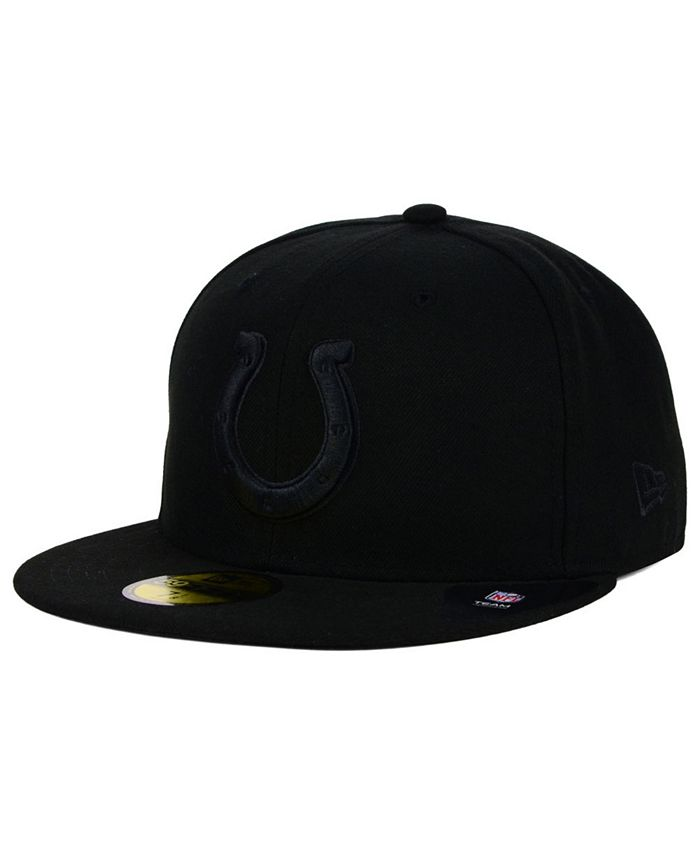 New Era - Indianapolis Colts Black on Black 59FIFTY Cap