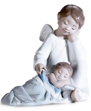 "Lladró ""My Guardian Angel"" Figurine, 5.5x5.5"""