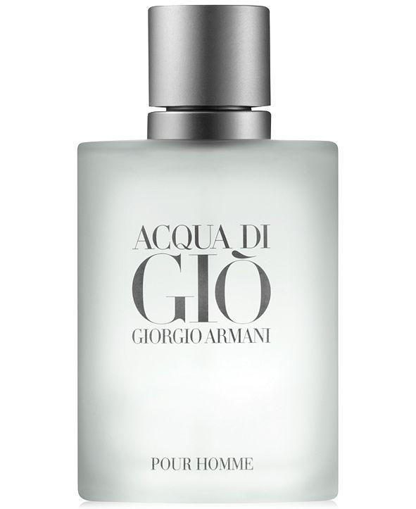 Giorgio Armani Acqua di Giò Pour Homme Eau de Toilette Spray, 3.4-oz.