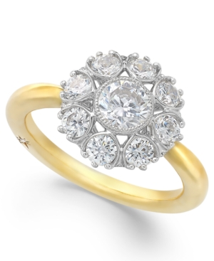 Star by Marchesa Certified Diamond Engagement Ring in 18k Gold (1-1/3 ct. t.w.)