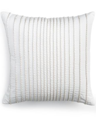 "Hotel Collection Sonnet 16"" Square Decorative Pillow"