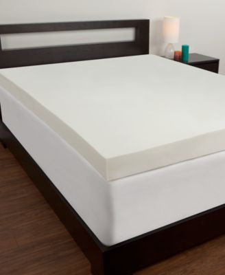 Comfort Revolution 4'' Memory Foam Queen Mattress Topper