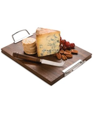 Closeout! Martha Stewart Collection Treasury Wood Cheese Board with Knife