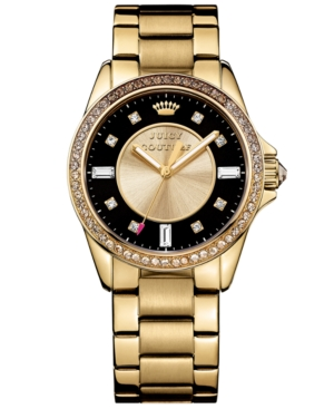 Juicy Couture Women's Stella Gold-Tone Bracelet Watch 36mm 1901208