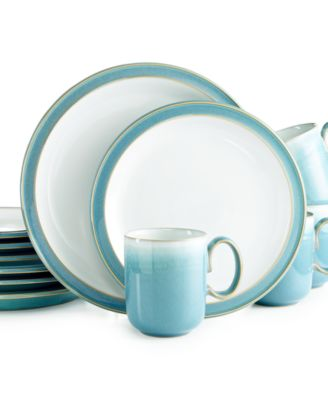 Denby Azure 12-Pc. Set, Service for 4