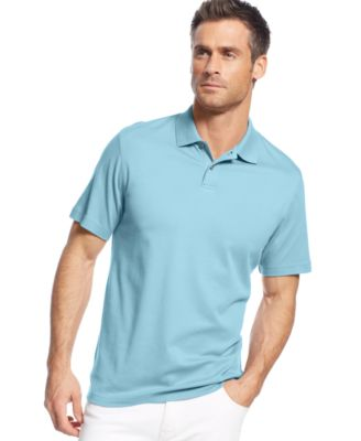 Image of Tasso Elba Soft Touch Signature Solid Polo