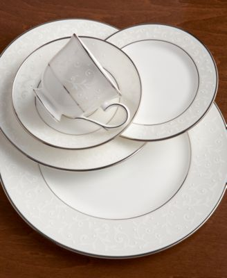 Lenox Dinnerware, Opal Innocence 5 Piece Place Setting