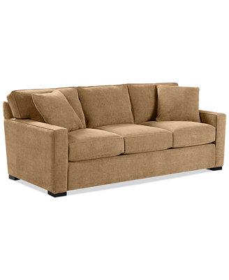 Radley Fabric Queen Sleeper Sofa Bed Custom Colors Furniture Macy s