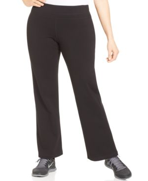 Ideology Plus Size Bootcut Active Pants