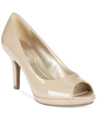 Nude Peep-Toe Pumps: Buy Nude Peep-Toe Pumps at Macy's