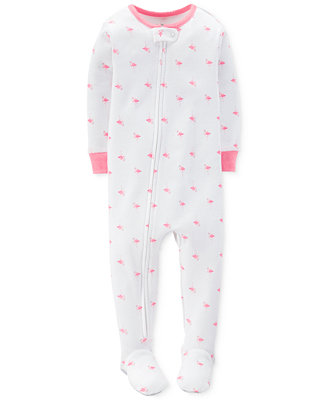 Carter's Baby Girls' Flamingo Pajamas