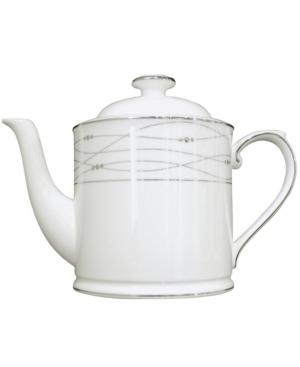 Royal Doulton Dinnerware, Precious Platinum Teapot