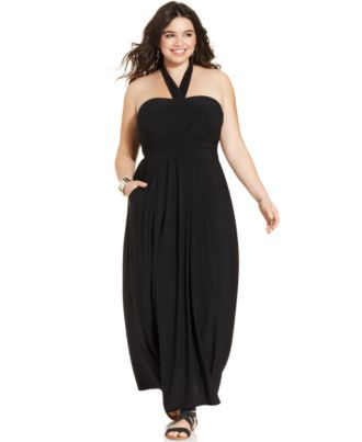 plus size maxi dresses at macy s collections