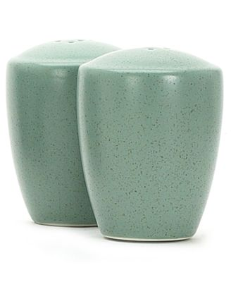 "Noritake ""Colorwave Green"" Salt & Pepper Set, 3 3/8"""