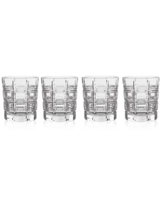 Crosby Double Old Fashioned Glasses, Set of 4