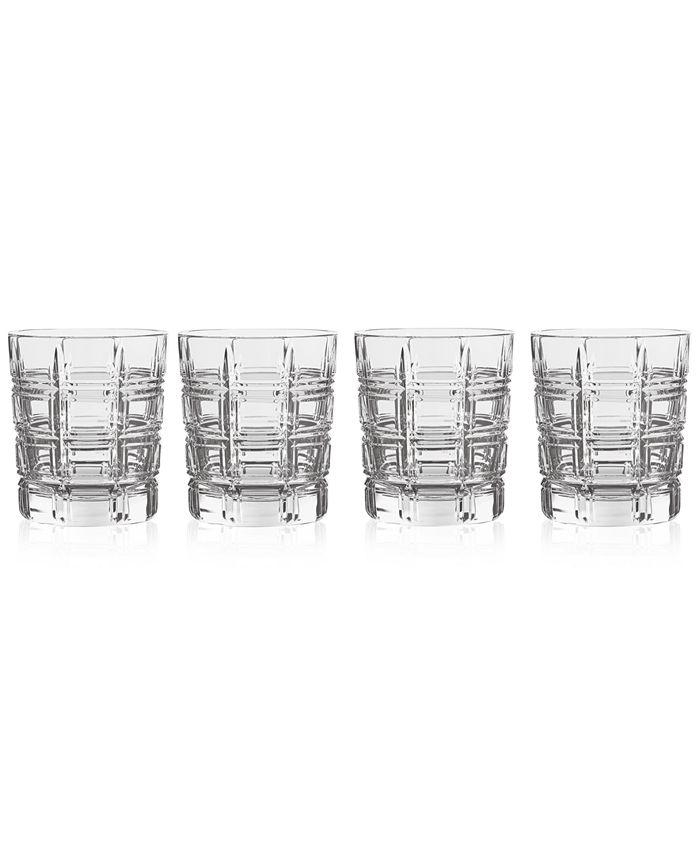 Marquis by Waterford - Marquis By Waterford Crosby Double Old Fashioned Glasses, Set of 4