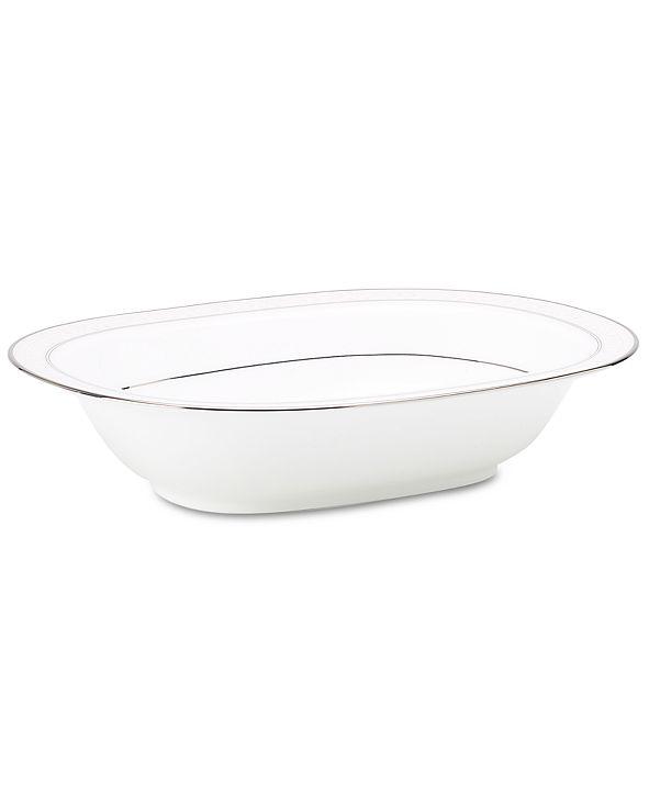 "Noritake ""Montvale Platinum"" Oval Vegetable Bowl"