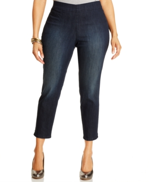 Nydj Plus Size Millie Ankle Jeans, Richmond Wash