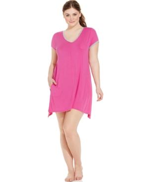 DKNY Plus Size Short Sleeve Sleepshirt
