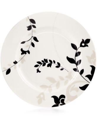 Martha Stewart Collection Toulon Round Dinner Plate