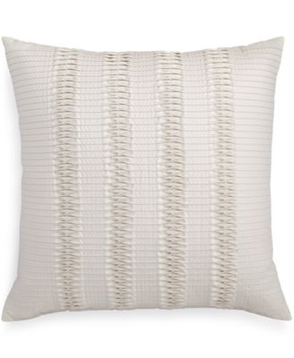"Hotel Collection Emblem 20"" Square Decorative Pillow, Only at Macy's"
